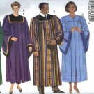 Butterick Sewing Pattern 5626 3820 Unisex Chest Sizes 30-48 Choir Graduation Robe Collar Minister