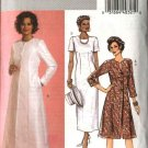 Butterick Sewing Pattern 4682 Misses Size 16-18-20-22 Easy Long Sleeve Duster Straight Dress