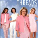 Simplicity Sewing Pattern 4601 Misses Size 16-24 Wardrobe Dress Jacket Top Pants Threads Collection