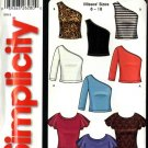 Simplicity Sewing Pattern 5723 Misses Size 8-18 Easy Knit Tops Sleeve Variations