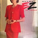 Vogue Sewing Pattern 8626 Misses Size 18-22 Easy Sleeveless Fitted Dress Short Sleeve Jacket