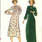 Vogue Sewing Pattern 9360 Women's Half Size 16 1/2 Long Sleeve Long Short Loose-fitting Dress
