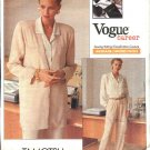 Vogue Sewing Pattern 2338 Misses Size 14-18 Tamotsu Career Wardrobe Pants Shirt Jacket