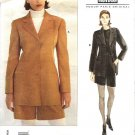 Vogue Sewing Pattern 1651 Misses Size 14-18 Claude Montana Lined Jacket Fitted City Shorts