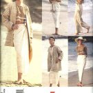 Vogue Sewing Pattern 1384 Misses Size 8-12 Easy Summer Wardrobe Top Jacket Dress Skirt Pants