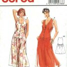 Burda Sewing Pattern 4788 Misses Size 10-20 Sleeveless Button Front Dropped Waist Dress
