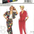 Burda Sewing Pattern 4798 Misses Size 10-20 Easy Shirt Sleeveless Tank Top Tapered Pants