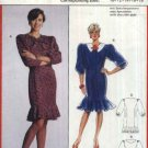 Burda Sewing Pattern 5529 Misses Size 10-18 Princess Seam Straight Button Front Dress