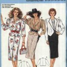 Burda Sewing Pattern 6399 Misses Size 8-20 Suit Straight Skirt Double Breasted Jacket