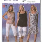 Burda Sewing Pattern 7907 Misses Sizes 16-28 Summer Empire Waist Top Dress
