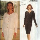 Butterick Sewing Pattern 3110 Misses Size 18-22 Easy Long Sleeve Sheath Tapered Dress