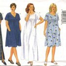 Butterick Sewing Pattern 6601 Womans Plus Size 22W-26W Easy Loose Fitting Summer Dress MuuMuu