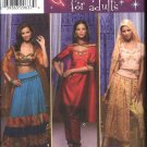 Simplicity Sewing Pattern 4249 Misses Size 6-12 Middle Eastern Ethnic Costumes Dresses