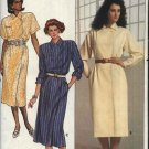 Butterick Sewing Pattern 3338 Misses Size 14-18 Straight Mock Wrap Dress Short Long Sleeves