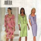 Butterick Sewing Pattern 3382 Misses Size 18-22 Sleeveless Straight Dress Tie Front Jacket