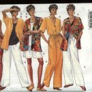 Butterick Sewing Pattern 3505 Misses Size 12-16 Easy Classic Summer Wardrobe Top Shorts Pants