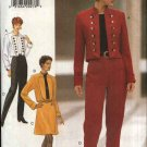 Butterick Sewing Pattern 3693 Misses Size 6-12 Easy Cropped Waist Jacket A-Line Skirt Pants