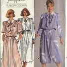 Butterick Sewing Pattern 3753 Misses Size 14-18  Long Short Sleeve Gathered Skirt Dress