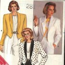 Butterick Sewing Pattern 3762 Misses Size 6-10 Easy Waist Length Tuxedo Style Jacket
