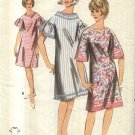 Vintage Butterick Sewing Pattern 3795 Misses Size 10-12 A-Line Dropped Shoulder Dress
