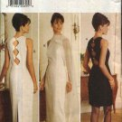 Butterick Sewing Pattern 3803 Misses Size 6-12 Easy Formal Long Short Straight Dress Stole