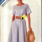 Butterick  Sewing Pattern 4168 Misses Size 6-14 Easy Short Sleeve Flared Skirt Dress