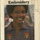Butterick Sewing Pattern 4783 Native North South American Indian Embroidery Iron On Transfers