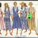 Butterick Sewing Pattern 4830 Misses Size 6-10  Easy Classic Bodice Options Jumper
