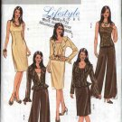 Butterick Sewing Pattern 4870 Misses Size 16-22 Easy Wardrobe Jacket Top Dress Pants
