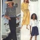 Butterick Sewing Pattern 5378 Misses Size 6-12  Easy Top City Walking Shorts Wide Leg Pants