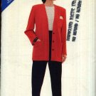 Butterick Sewing Pattern 5820 Misses Size 8-12 Easy Button Front Cardigan Jacket Tapered Pants