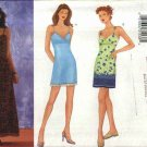 Butterick Sewing Pattern 6586 Misses Size 6-10 Easy Short or Long Slip Dress Summer