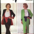 Butterick Sewing Pattern 6683 Misses Size 6-10 Easy Wardrobe Jacket Top Skirt Pants Sash