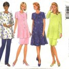 Butterick Sewing Pattern 5376 Misses Size 6-10 Easy Maternity Classic Wardrobe Dress Pants Skirt Top