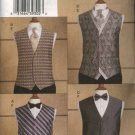 Vogue Sewing Pattern 8048 Mens Size 34-36-38-40 Formal Vests Tie Bowtie