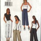 Butterick Sewing Pattern 3527 Misses Size 6-10 Easy Classic Long Cropped Straight Cuff Pants