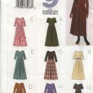 Butterick Sewing Pattern 3594 Misses Size 8-12 Easy Waist Dress Pleated Skirt Sleeve Options