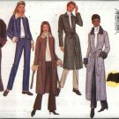 Butterick Sewing Pattern 3274 Misses Size 8-12 Easy Unlined Button Wrap Knit Jacket Coat