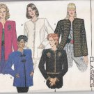 Butterick Sewing Pattern 6954 B6954 Misses Size 12 Classic Cardigan Button Front Jackets