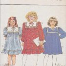 Butterick Sewing Pattern 6977 Girls Size 7-10 Classic Yoke Dress Sleeve Ruffle Variations
