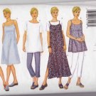 Butterick Sewing Pattern 6482 Misses Size 6-10 Easy Maternity Classic Dress Pants Shorts Top