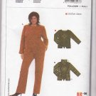 Burda Sewing Pattern 8007 Womens Plus Size 18-30 Easy Pullover Knit Long Sleeve Turtleneck Top