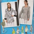 Simplicity Sewing Pattern 2930 Misses Size 16-24 Project Runway Tunic Top Sleeve Neckline Options