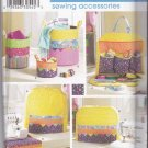 Simplicity Sewing Pattern 3776 Fat Quarter Club Sewing Room Accessories Machine Covers