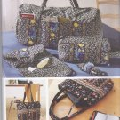 Simplicity Sewing Pattern 5025 Travel Accessories Tote Bag Cosmetic Eyeglass Phone Case