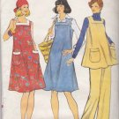 Vogue Sewing Pattern 8971 Misses Size 12 Maternity Dress Jumper Tunic Top Pants