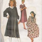 Simplicity Sewing Pattern 6653 Misses Size 14  Maternity Dress Short Long Sleeves