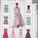McCall's Sewing Pattern 8043 Misses Size 10-14 Formal Evening Gown Long Short Dress Options