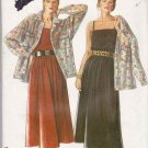 New Look Sewing Pattern 6234 Misses Size 8-18 Summer Pullover Dress Button Front Shirt
