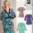 New Look Sewing Pattern 6620 Misses Size 10-22 Easy Pullover Raised Waist Empire Knit Tops